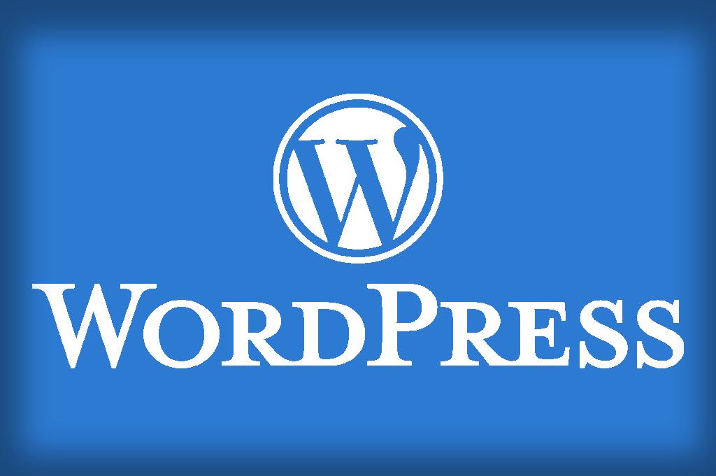 Showing the WordPress logo