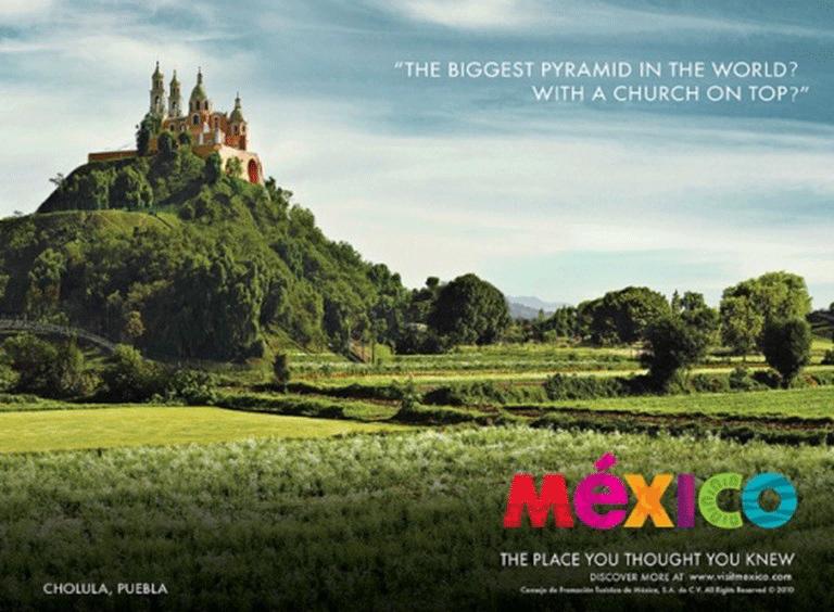 copywritig promoting tourism in Mexico